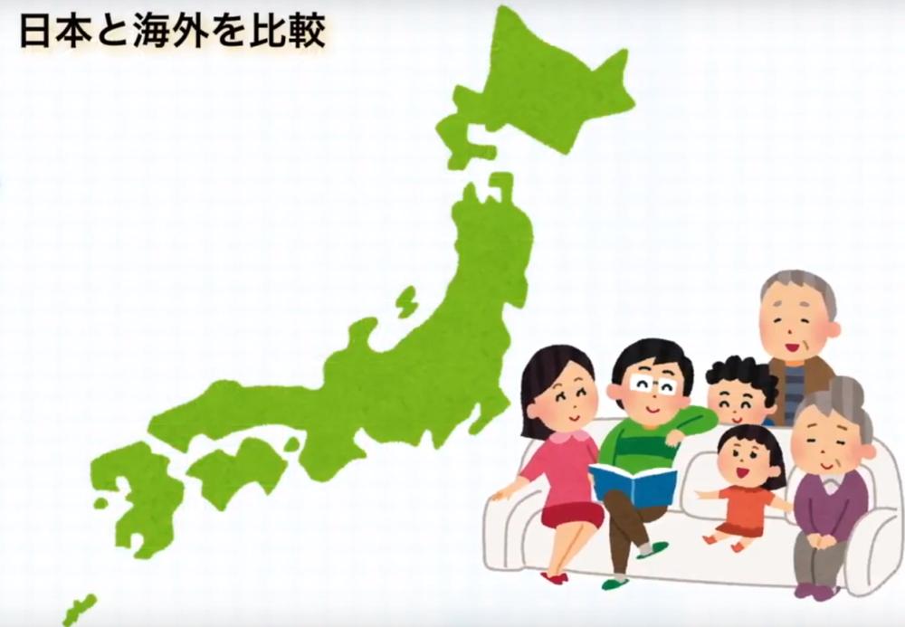 日本と海外を比較